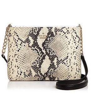 HP🎉 Kate Spade Snake Black Crossbody Purse Bag